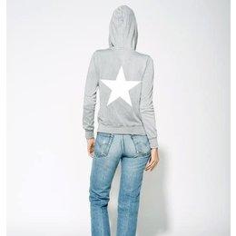 Sundry Zip Hoodie Star