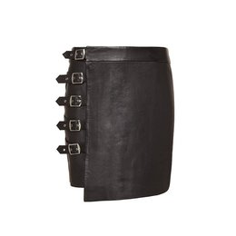 Zoe Karssen Buckles Mini Skirt