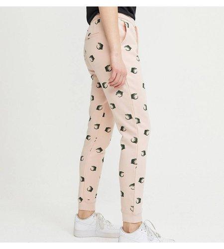 Zoe Karssen Crocodile Sweat Pants Peach Whip