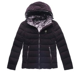 Blauer Down Jacket With Hood In Velvet