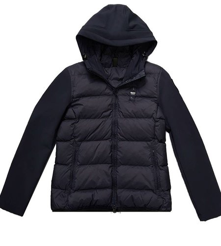 Blauer Matea Neoprene Down Jacket Blue