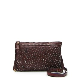 Campomaggi Pouch with studs in