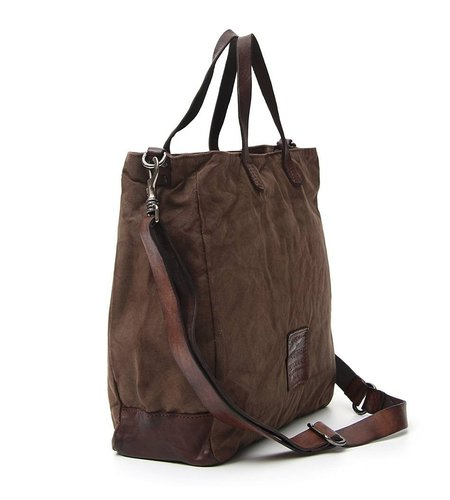 Campomaggi Shopping bag in Military Green