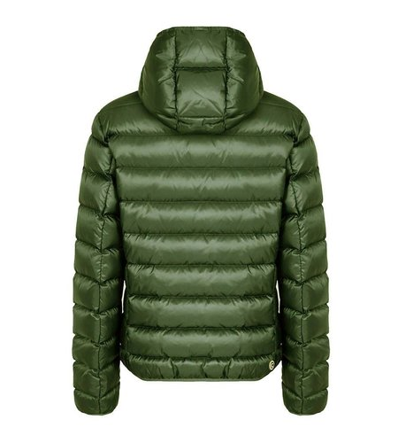 Colmar Sports Down Jacket With Fixed Hood Green