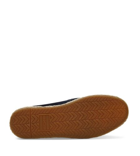 TOMS Deconstructed Alpargata Rope Suede Navy
