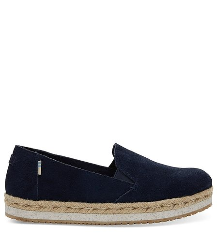 TOMS Palma Suede Navy