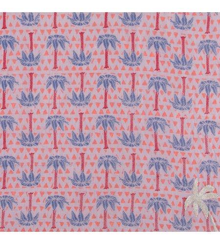 Birds On The Run Oblong Palm Design