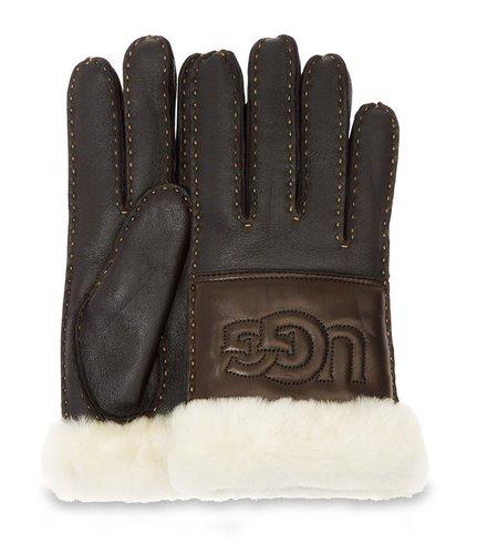 UGG Sheepskin Logo Glove BLLE