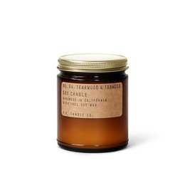 P.F. Candle Co. Candle & Co Teakwood Tobacco Standard