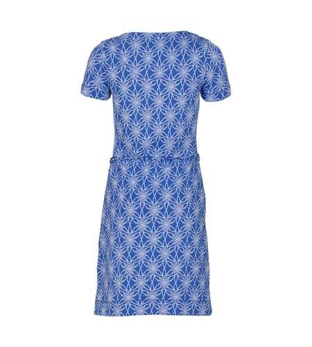 Le Pep Dress Adriana Blue Flower