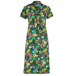 IEZ! Dress Bow Jersey Print