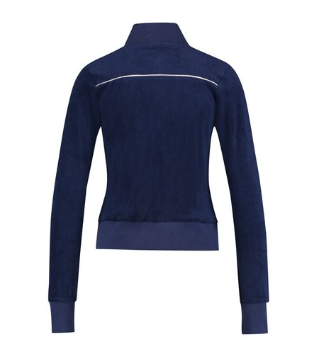 IEZ! Jacket Terry Dark Blue