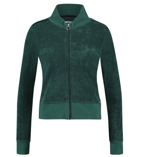IEZ! Jacket Terry Dark Green