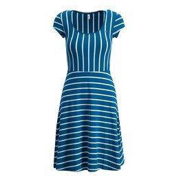 Blutsgeschwister Logo Stripe Dress