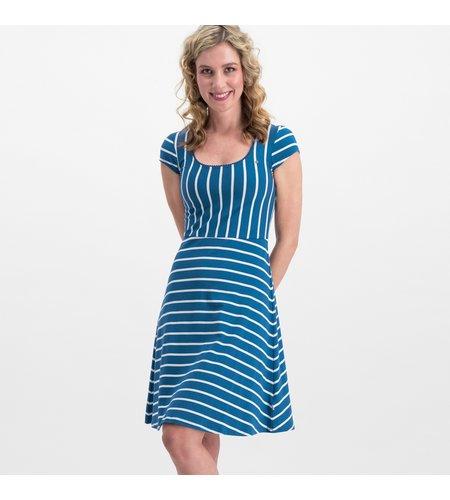 Blutsgeschwister Logo Stripe Dress Free Stripe
