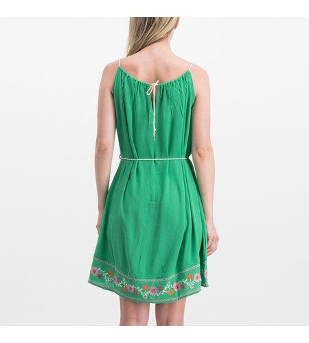 Blutsgeschwister Summer In The City Dress Smaragd Crepe