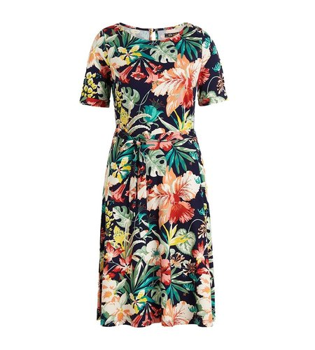 King Louie Betty Dress Avalon Blue