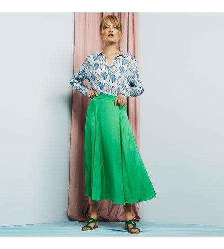 Fabienne Chapot Megan Skirt Green Metallic
