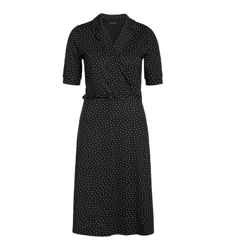 King Louie Polo Cross Dress Little Dots Black