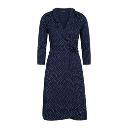 King Louie Abby Wrap Dress Little Dots