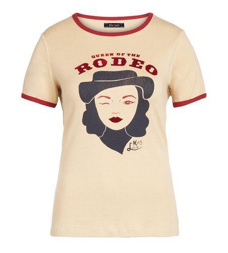 King Louie Rodeo Queen Tee Marzipan
