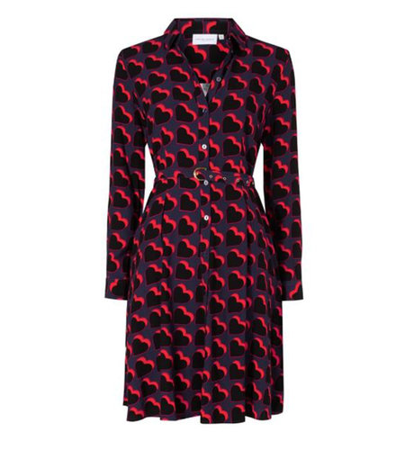 Fabienne Chapot Hayley Dress Black Game Over Hearts