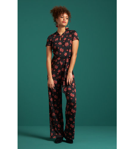 King Louie Chinese Jumpsuit Fontana Black