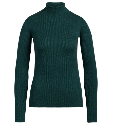 King Louie Rollneck Top Lapis Pine Green