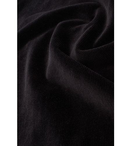King Louie Mona Dress Rib Velours Black