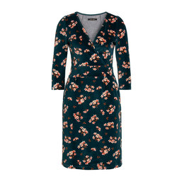 King Louie Cross Tulip Dress Huckleberry