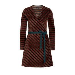 King Louie Wrap Dress Nikki Stripe