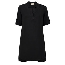 Bella Dahl A-Line Shirt Dress Vintage Black