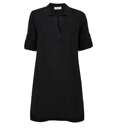 Bella Dahl A-Line Shirt Dress Vintage Black
