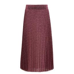 King Louie Border Plisse Skirt Glitter Plisoley
