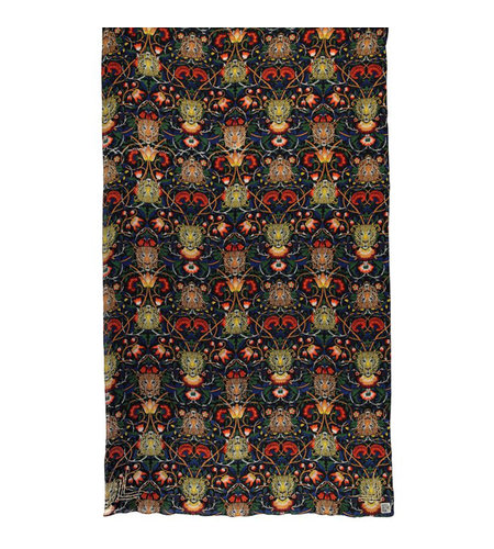 Birds On The Run Woven Printed Oblong Scarf