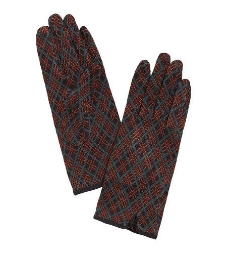 King Louie Glove Argyle Black