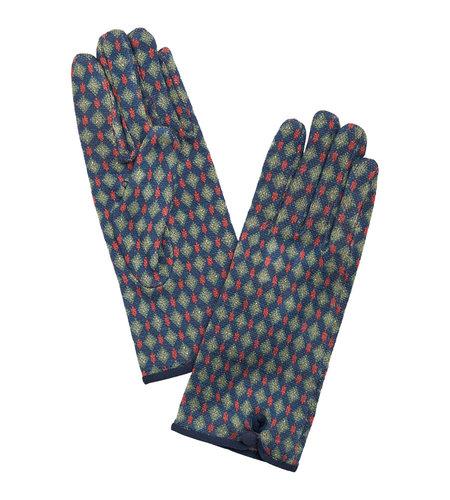 King Louie Glove Diamond Autumn Blue