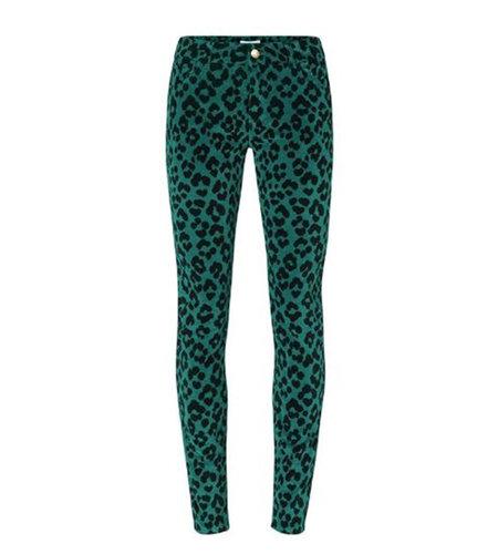 Fabienne Chapot Sierra Penny Trouser Go Green Patchy Leopard