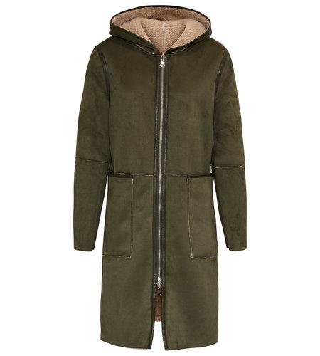 Goosecraft Adelyn Coat Military Green
