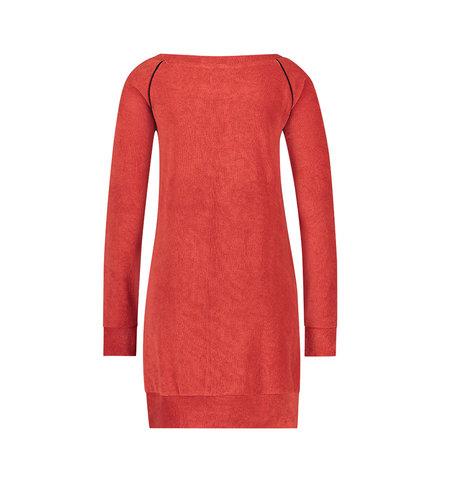 IEZ! Dress Tunic Terry Red