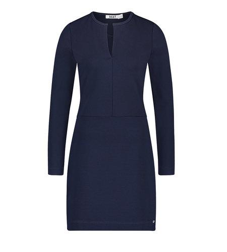 IEZ! Dress Stretch Dark Blue