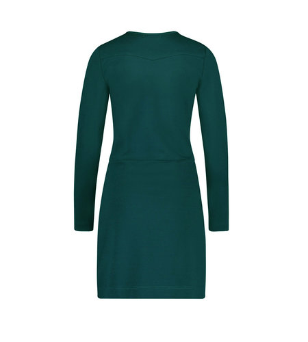 IEZ! Dress Stretch Dark Green