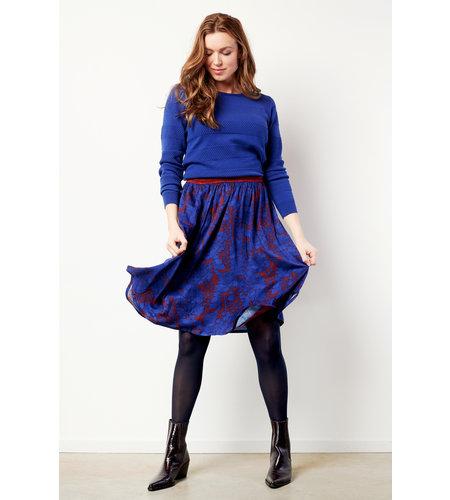 Le Pep Skirt Bardot Multi Winetasting