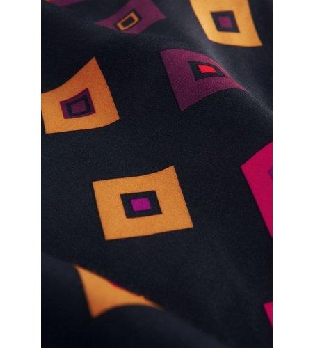 Fabienne Chapot Claire Tetris Skirt Black