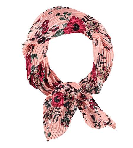 Sarlini Printed Scarf Square Pink