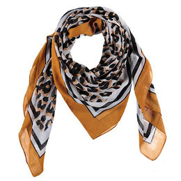 Sarlini Printed Scarf Square 2