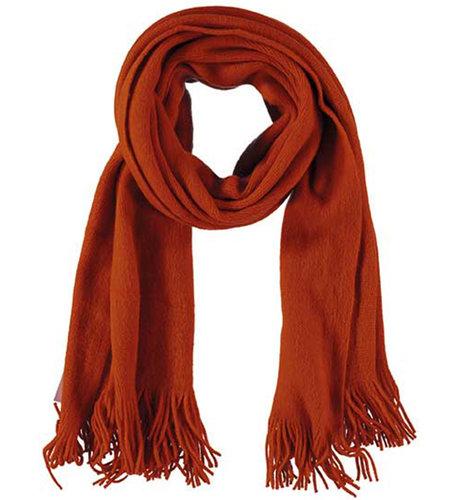 Sarlini Ladies Knit Scarf Orange