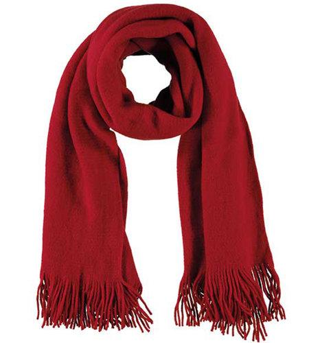 Sarlini Ladies Knit Scarf Red