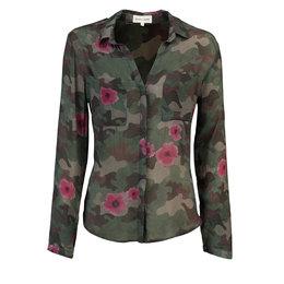 Bella Dahl Hipster Shirt Floral Camo