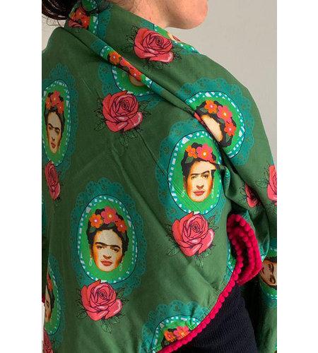 Tante Betsy Scarf Frida Green